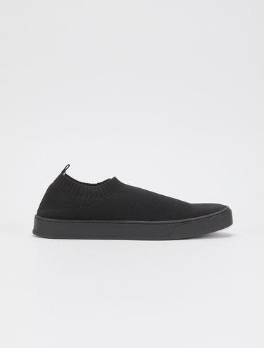 Techno-mesh sock sneakers