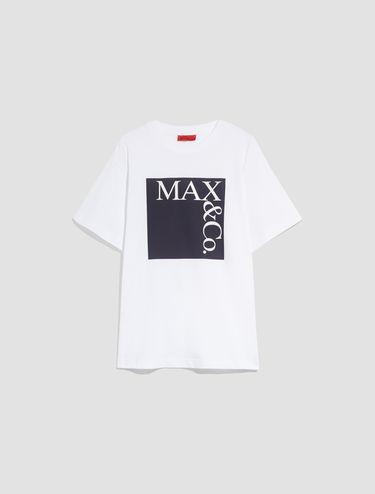 T-shirt en coton avec logo