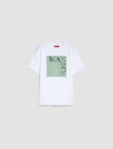 [TEE] ロゴ コットン Tシャツ