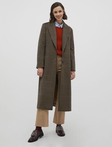 Coat in drap di lana