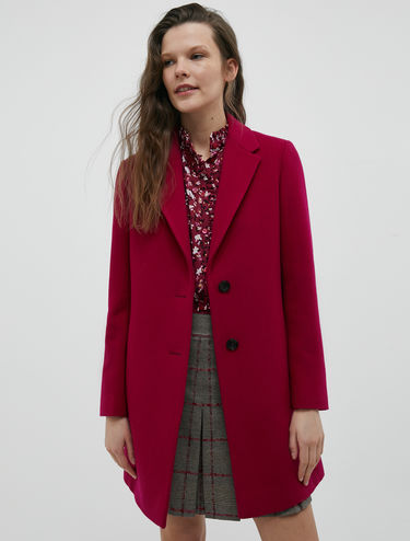 Manteau coupe slim
