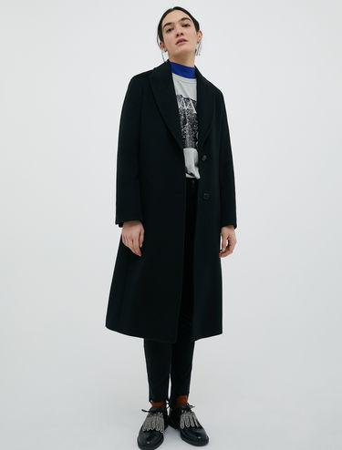 Mantel aus reinem Wolldrap