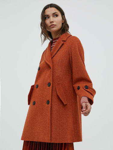 Manteau coupe trapèze