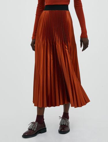 Origami pleated skirt