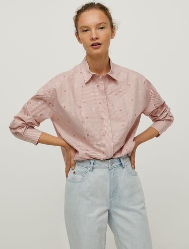 Fil coupé cotton shirt
