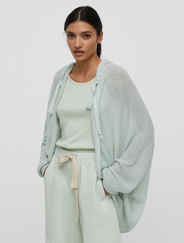 Oversized mohair cardigan