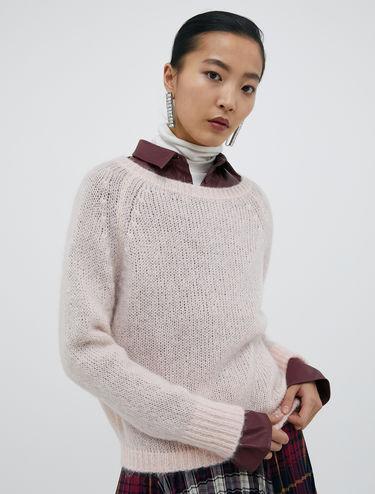 Pull in blend di lana mohair