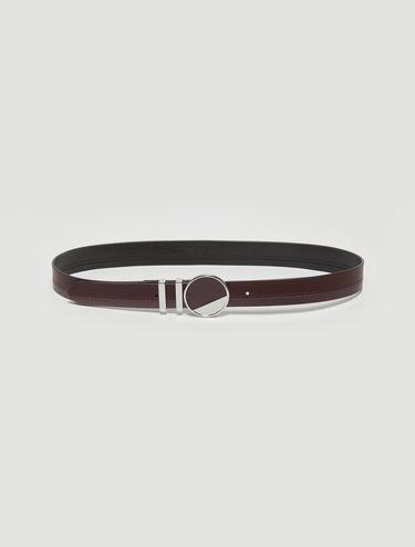 Double textured belt