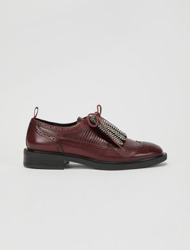 Brogues with jewelled fringing