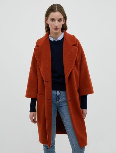 Manteau en peluche