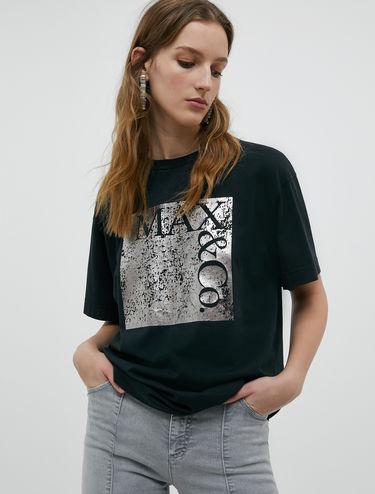 Grunge edition logo T-shirt