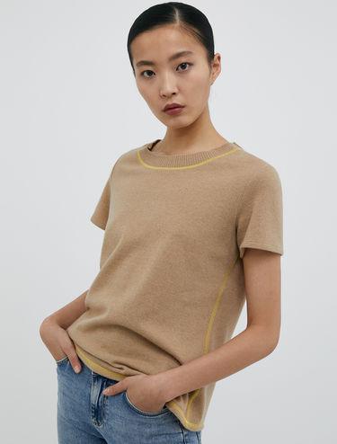 Wool jersey T-shirt