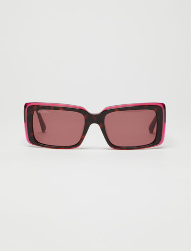Rectangular tri-layer glasses