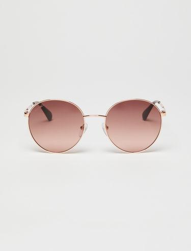 Round metallic glasses
