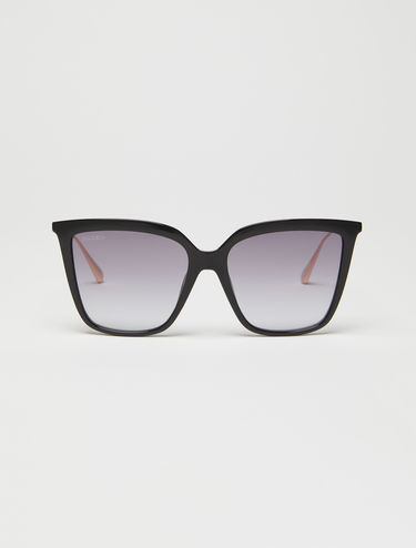 Wide butterfly glasses